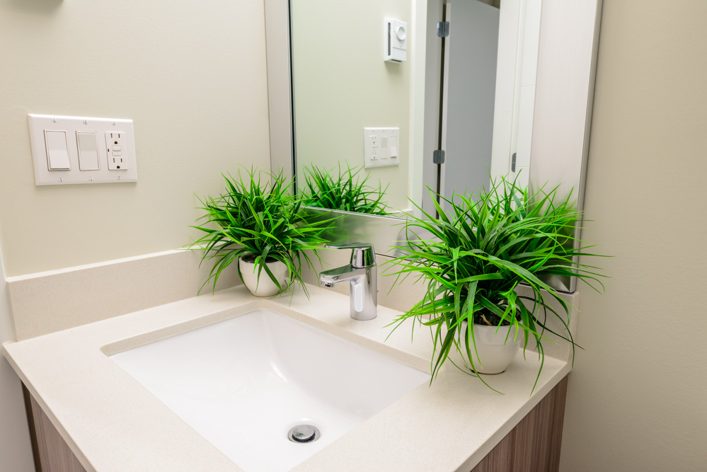 San Diego Water Saving Bathroom remodel
