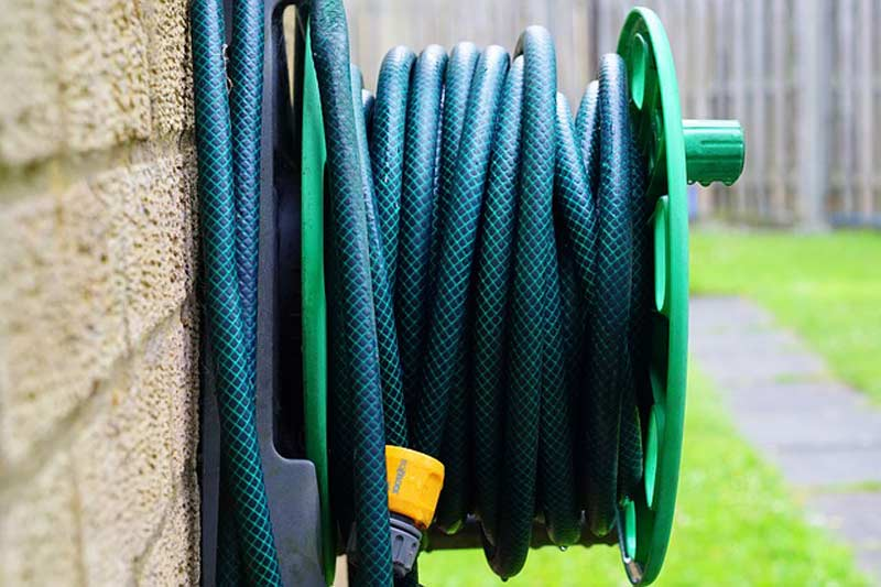 Winter Hose storage for San Diego Plumbing issues in winter